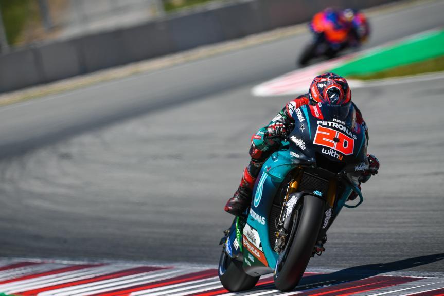 Fabio Quartararo, Petronas Yamaha SRT, Catalunya MotoGP™ Test