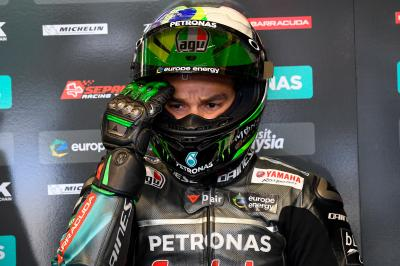 "Morbidelli: ""It was a positive day for us"""