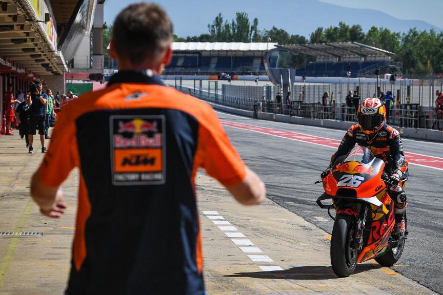 Dani Pedrosa, Red Bull KTM Factory Racing, Catalunya MotoGP™ Test