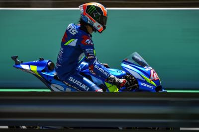 Rins quickest so far at the Barcelona test