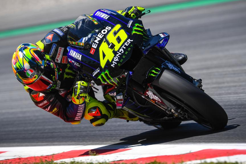 Valentino Rossi, Monster Energy Yamaha MotoGP, Catalunya MotoGP™ Test