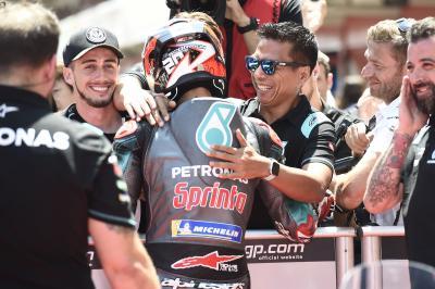 Petronas Yamaha SRT setzt Zeichen in der MotoGP™