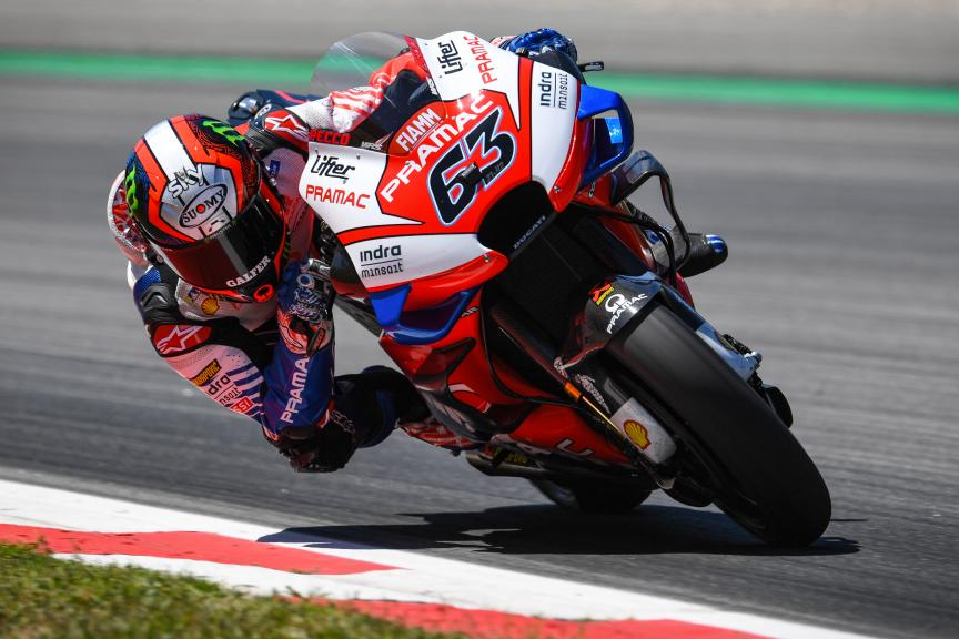 Francesco Bagnaia, PRAMAC RACING, Catalunya MotoGP™ Test
