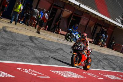 "Marquez uses test ""to understand the future direction"""