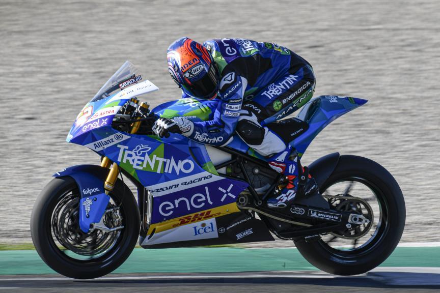 32 Lorenzo Savadori, Trentino Gresini Motoe, Valencia MotoE™ Test