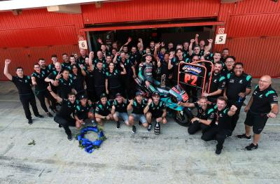 Fabio Quartararo achieves first ever podium for PETRONAS Yamaha SRT