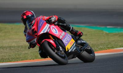Héctor Garzó, el más rápido en el estreno del test de MotoE™