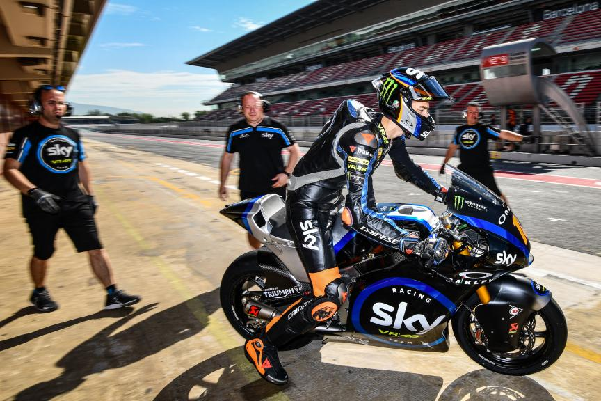 Luca Marini, Sky Racing Team VR46, Catalunya Moto2™-Moto3™ Test