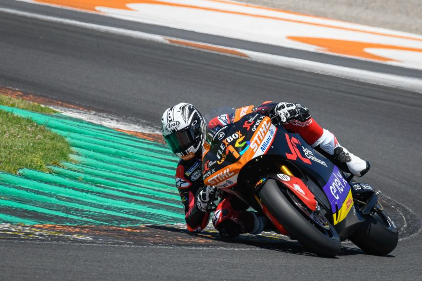 Sete Gibernau, Join Contract Pons 40, Valencia MotoE™ Test