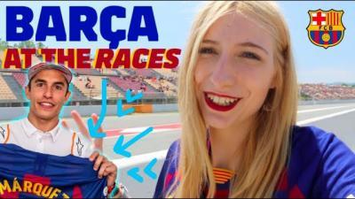 A day at the races vlog: Barça meets MotoGP™ #CatalanGP
