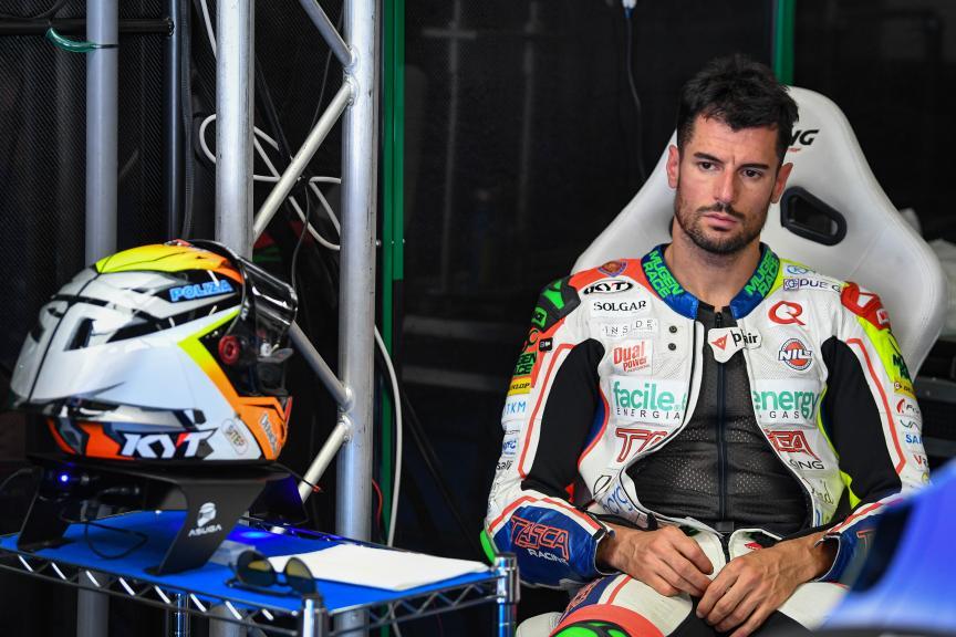 Simone Corsi, Tasca Racing Scuderia Moto2, Catalunya Moto2™-Moto3™ Test