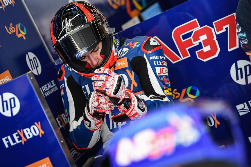 Augusto Fernandez, Flex-Box HP40, Catalunya Moto2™-Moto3™ Test