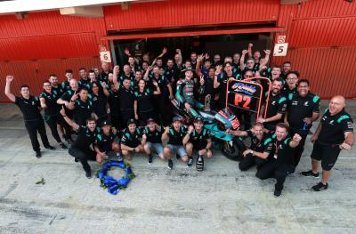 Petronas Yamaha SRT's road to a MotoGP™ podium