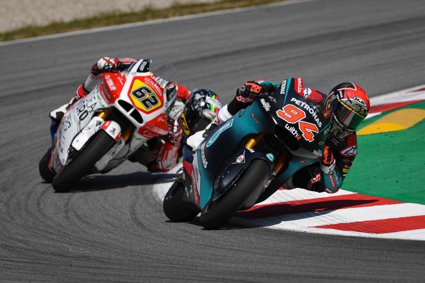 Jonas Folger, Petronas Sprinta Racing, Catalunya Moto2™-Moto3™ Test