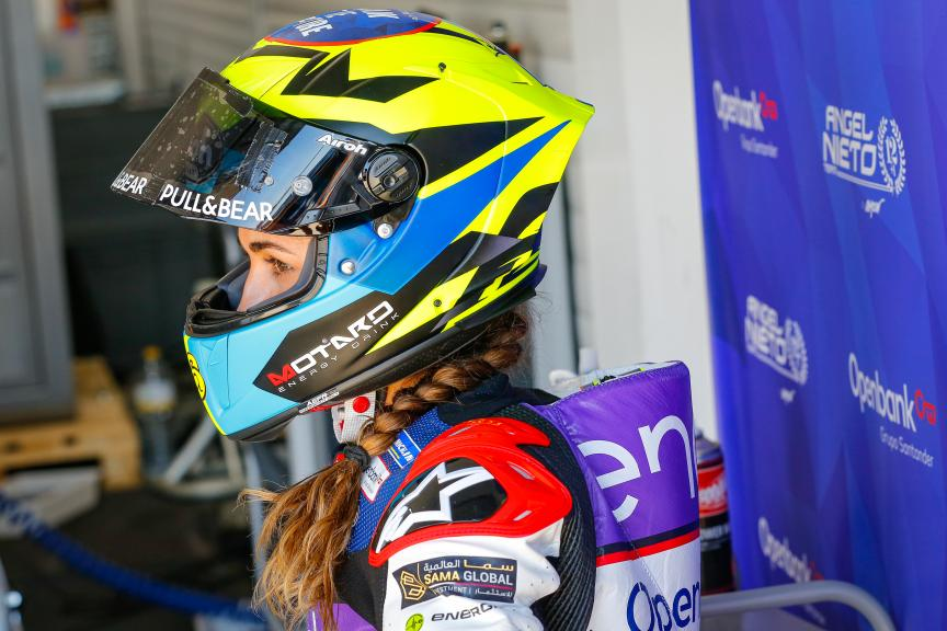 Maria Herrera, Open Bank Angel Nieto Team, Valencia MotoE™ Test