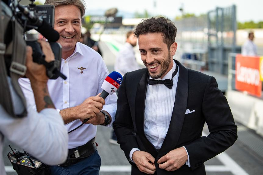 Andrea Dovizioso, Mission Winnow Ducati, MotoGP™ suit up for 70 years celebration