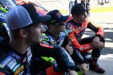 Hector Garzo, Eric Granado, Niki Tuuli,Valencia MotoE™ Test