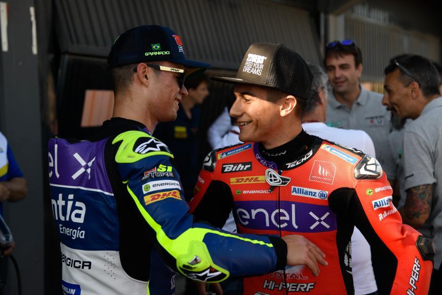 Hector Garzo, Eric Granado, Valencia MotoE™ Test