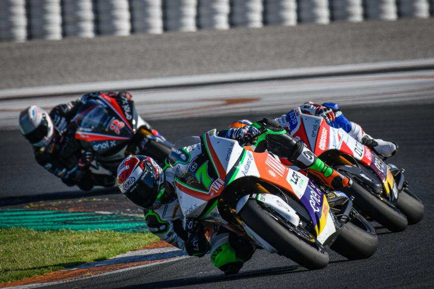 Niccolo Canepa, LCR E-Team, Valencia MotoE™ Test
