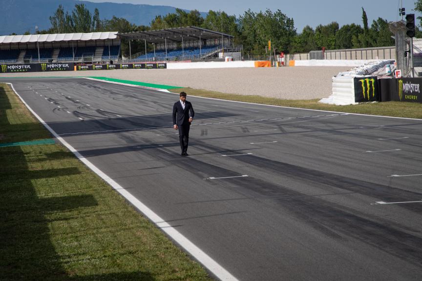 Andrea Iannone, Aprilia Racing Team Gresini, MotoGP™ suit up for 70 years celebration