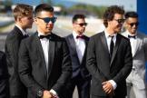 Takaaki Nakagami, LCR Honda Idemitsu, MotoGP™ suit up for 70 years celebration
