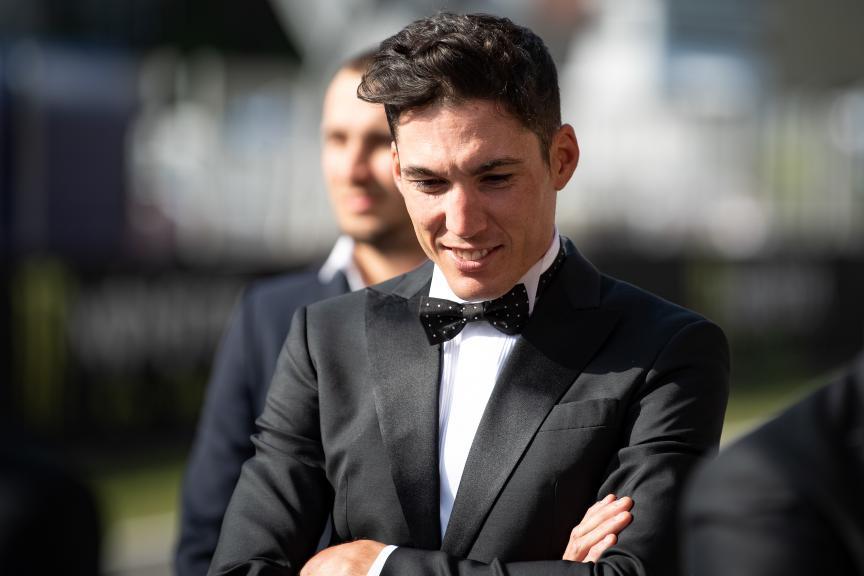 Aleix Espargaro, Aprilia Racing Team Gresini, MotoGP™ suit up for 70 years celebration