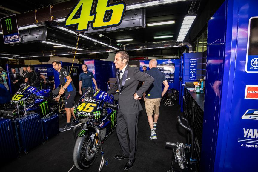 Valentino Rossi, Monster Energy Yamaha MotoGP, MotoGP™ suit up for 70 years celebration