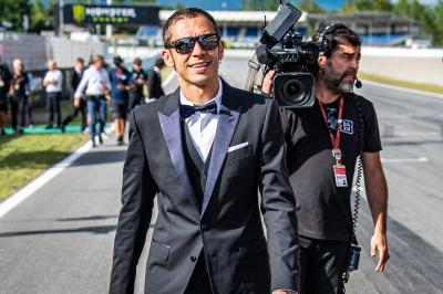 Suited, not booted: Riders celebrate #MotoGP70