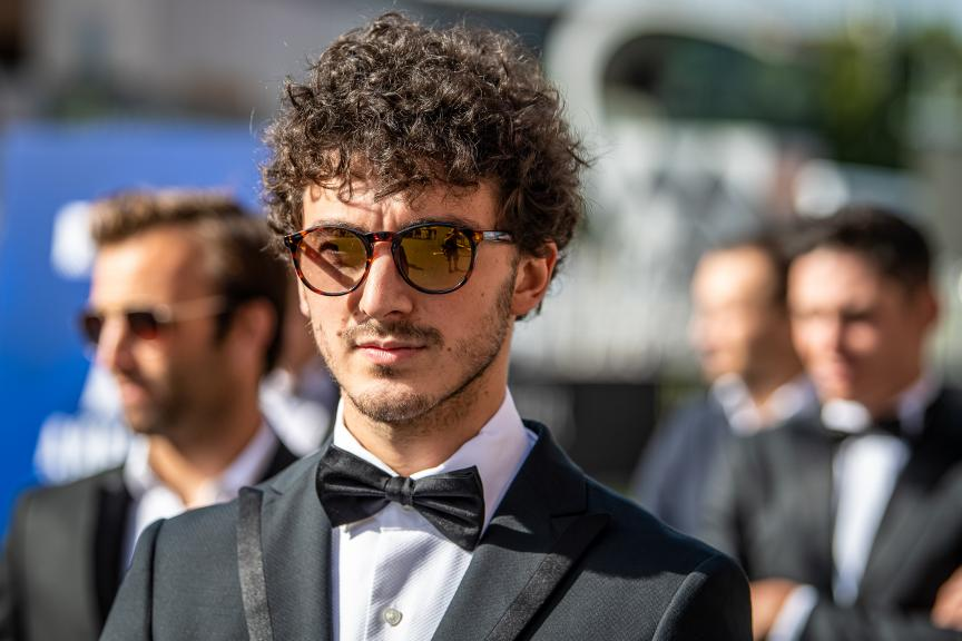Francesco Bagnaia, PRAMAC RACING, MotoGP™ suit up for 70 years celebration
