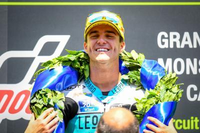 Marcos Ramírez, un 'Nadal' inquebrantable en Moto3™
