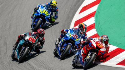 Watch the battles you missed at the Catalan GP