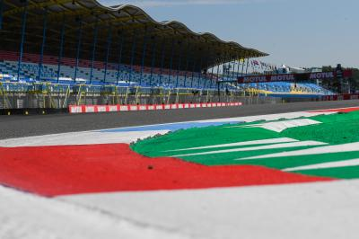 Circuit setup: Teams get set for Assen