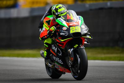 Aprilia join factory fight in Assen with a resurgent Iannone
