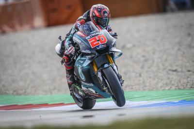 FP1 : Quartararo déjà devant, six marques dans le Top 11