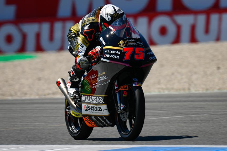 Albert Arenas, Sama Qatar Angel Nieto Team, Motul TT Assen