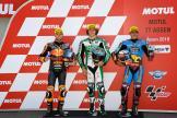 Remy Gardner, Brad Binder, Xavi Vierge, Motul TT Assen