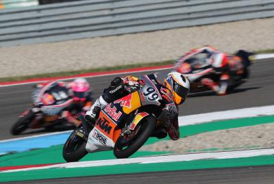 Late drama decides Rookies Cup Race 1 in Assen!