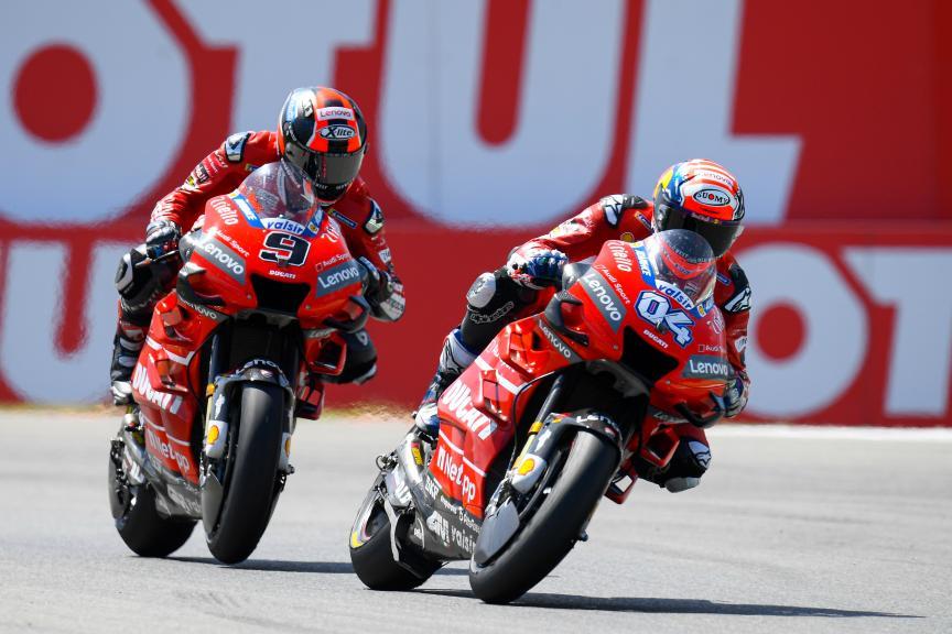 Andrea Dovizioso, Danilo Petrucci, Ducati Team, Motul TT Assen