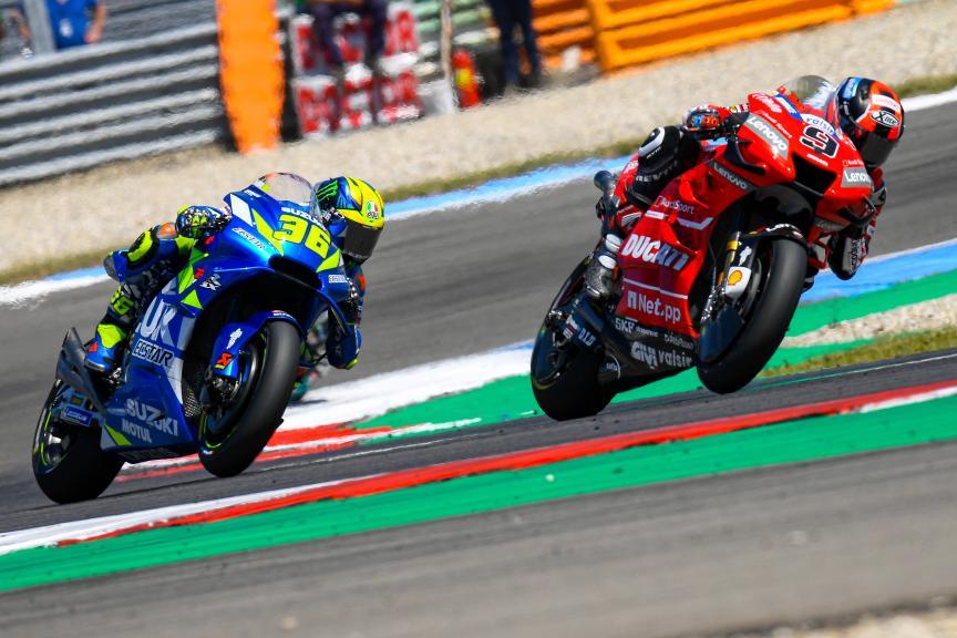 Danilo Petrucci, Joan Mir, Ducati Team, Motul TT Assen