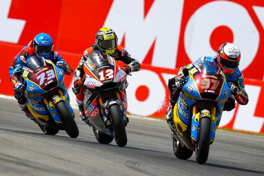 Tom Luthi, Xavi Vierge, Alex Marquez, Motul TT Assen