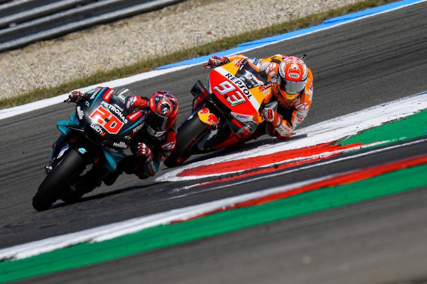 Fabio Quartararo, Marc Marquez, Motul TT Assen