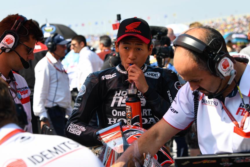 Kaito Toba, Honda Team Asia, Motul TT Assen