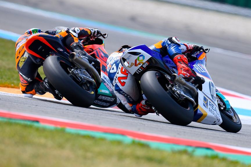 Augusto Fernandez, Brad Binder, Motul TT Assen