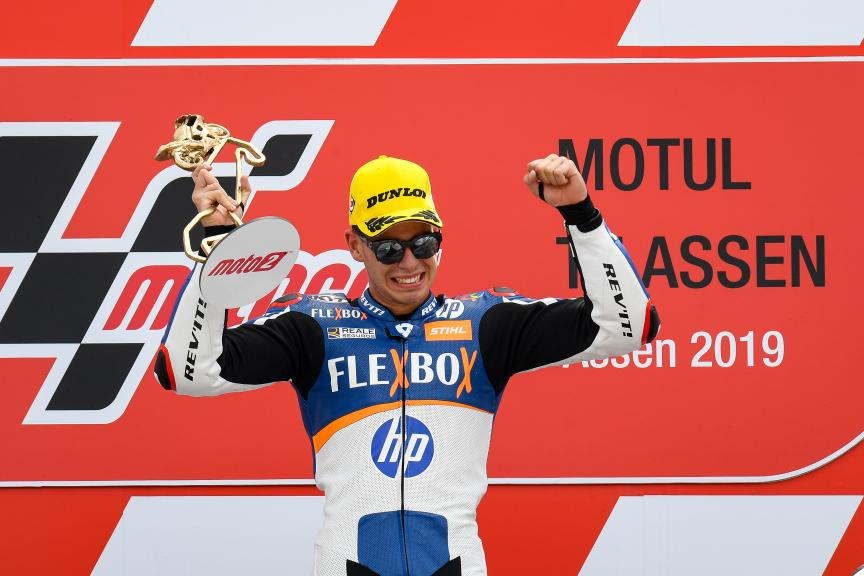 Augusto Fernandez, Flex-Box HP40, Motul TT Assen