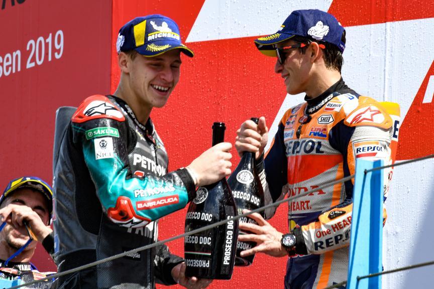 Fabio Quartararo, Marc Marquez, Repsol Honda Team, Motul TT Assen