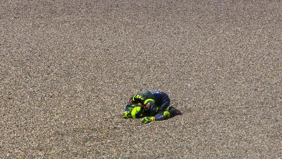 Ce GP des Pays-Bas tourne court pour Rossi...