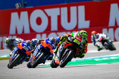 """Race by race"" improvements for 10th place Iannone"