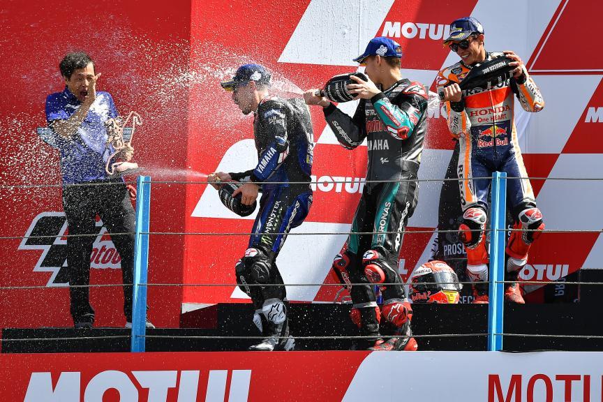 Maverick Vinales, Fabio Quartararo, Motul TT Assen