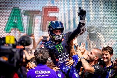 After the Flag : Délivrance pour Yamaha et Viñales !