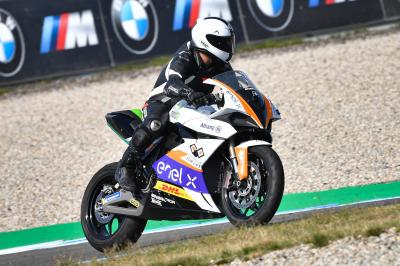 "Ein MotoE™ -Erlebnis in Assen mit ""Two Wheels for Life"""